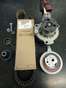 Genuine-VW-Audi-Skoda-Timing-Belt-Kit-with-water-pump-04L198119A-04L121011P