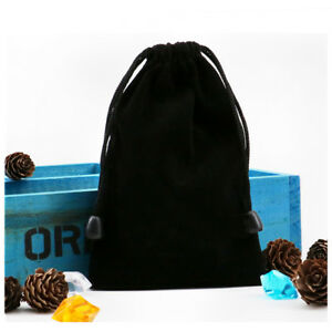 1Pc Black Bunch Mouth Bags Board Games Glasses Dice for Receive Bag Accessories