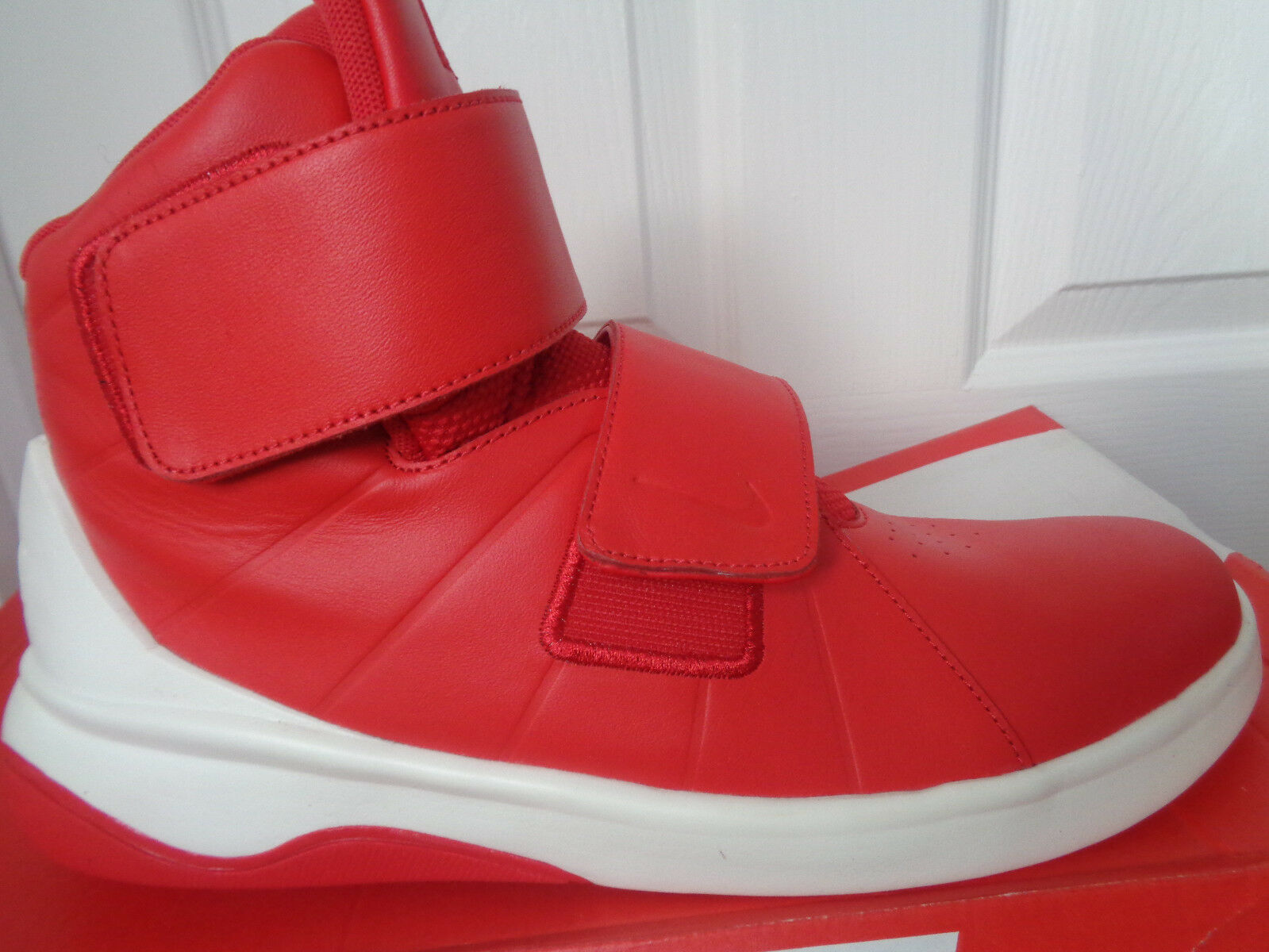 Nike Marxman Para hombre Bota Negro blancoo 832764 600 UK 9 EU 44 nos 10 Nuevo + Caja