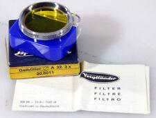 VOIGHTLANDER G3x 302/32 AR 32 mm FILTER NEW IN BOX--SLIP ON