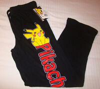 Pokemon Pikachu Sleep Pants Mens Size M L Xl Pajamas Pjs Lounge Nintendo
