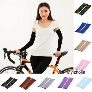 1 piece Cooling Arm Sleeves Cover UV Protection Basketball Athletic Sport CHK
