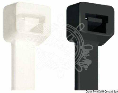 Osculati Cable tie black 12.5x720 mm 100pcs