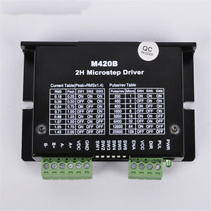 Cnc Microstep 2ph Driver Adapter Controller Dc40v For