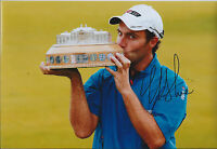 Edoardo MOLINARI SIGNED Autograph 12x8 Photo AFTAL COA Scottish Open WINNER Golf
