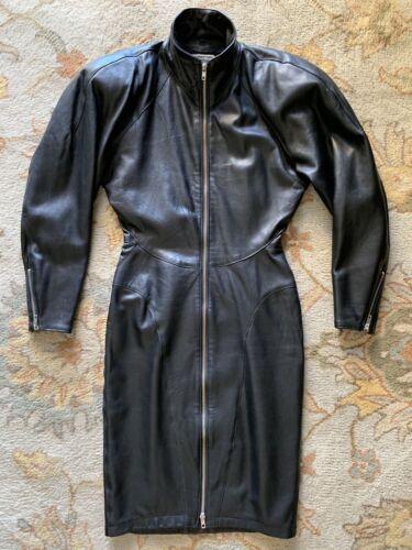 "VINTAGE North Beach Leather ""Michael Hoban"" Black"