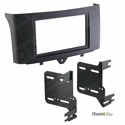 Metra 95-8720B Black Double DIN Dash Kit 2011-Up Smart for two