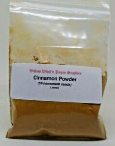 Details about Cinnamon Powder 1 ounce Wicca Hoodoo Voodoo Healing  Protection Witchcraft Pagan
