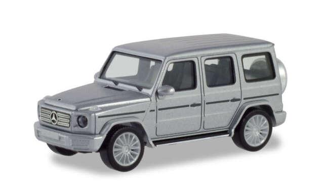 Herpa 430760 Mercedes-benz G Class with AMG Rims Iridium Silver Met 1:87 (H0)