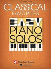 Classical Favorites Easy Piano Solos Sheet Music Solo Book NEW 014041285