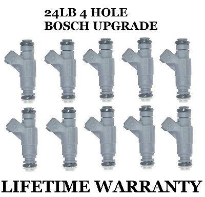 For 96-97 Dodge Ram 2500 /& 3500 FJ440 Bosch 0280155721 Fuel Injector Set 10