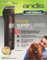 Andis Agc-2 Agc2 Super 2-speed Animal 4x4 Dog Animal Pro Clipper 22360