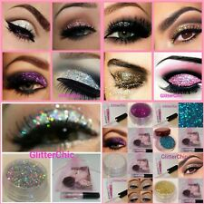 Glitter Eyes Eye Shadow Xmas Make up Eyes Face Glitter Fix Gel 4ml Gift bag Glam