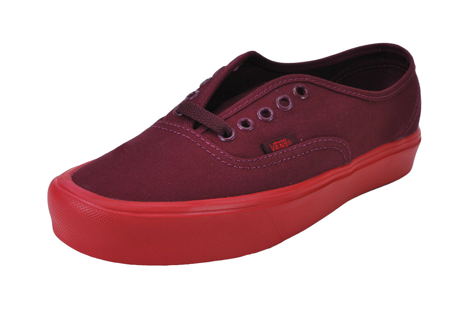 cae7d214978 Vans Men Women shoes Authentic Lite Weight Port Royale Red Red Red Burgundy  Canvas Sneake 82daf1