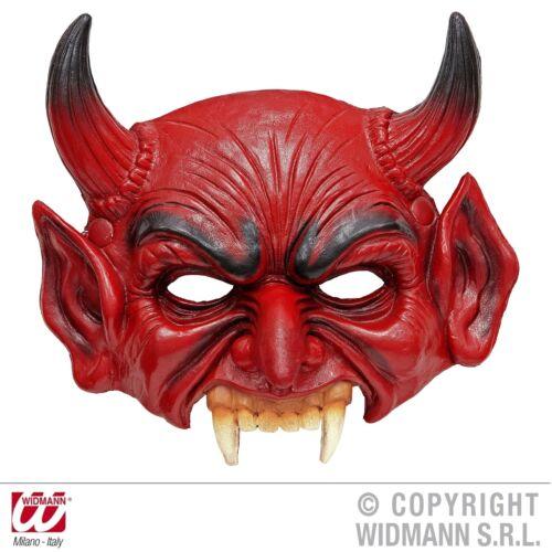 Kinnlose Diable Masque Mousse-latex-Masque Diable démon Lucifer adulte