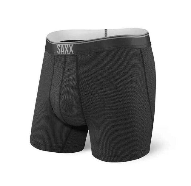 Quest 2.0 Boxer Briefs Ballpark X-Large Black SAXX Underwear Co