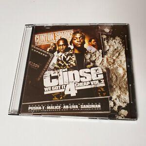 Clipse Mixtape CD Rare Rap We Got It 4 Cheap For vol 2 Pusha T Malice Kanye 2005