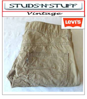 "Vintage Levis Slim Fit Pantaloni Jeans W34"" L30"" Aprox Taglia Uk 14 (t157)-mostra Il Titolo Originale"