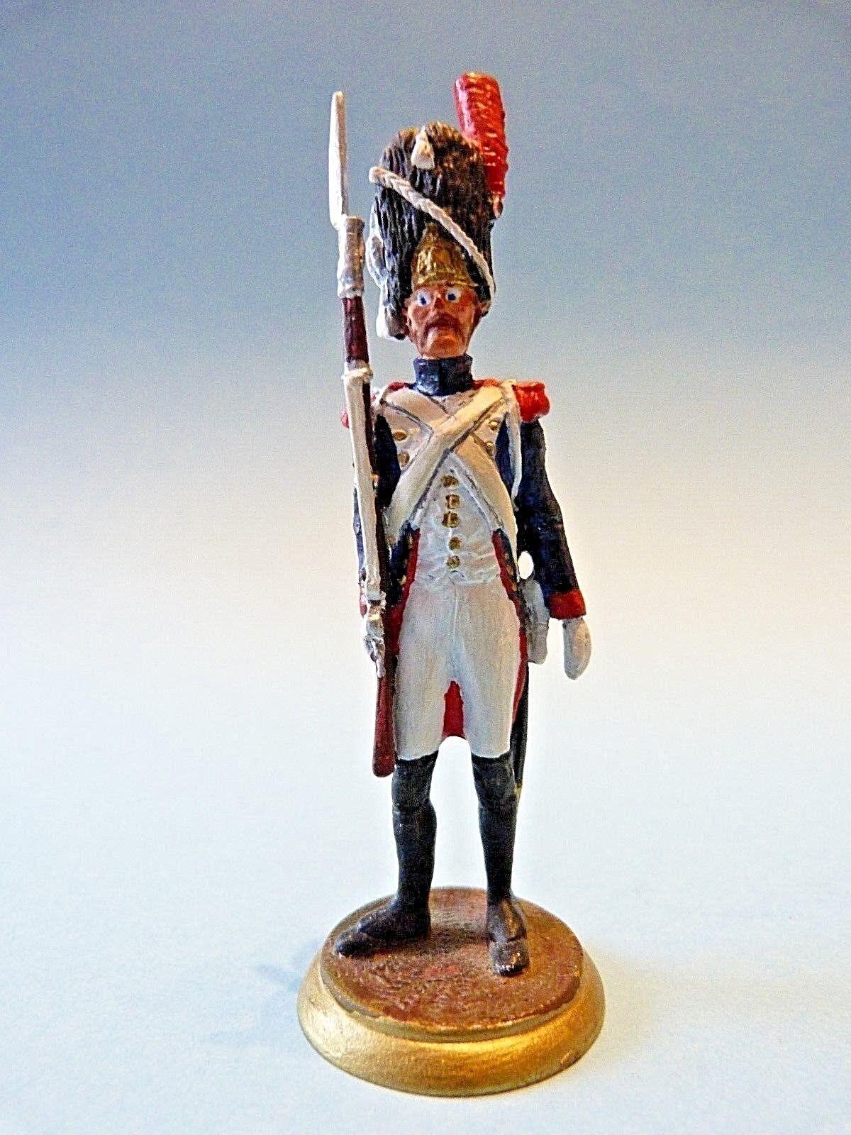 Figurine d'art Claude Alexandre - Grenadier à pied de la garde impériale