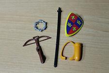 Playmobil  Waffen Rüstung für Ritter Ritterburg 3666, 3568, 4865 4866 (6-67)