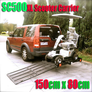 sc500xl towbar mobility scooter power wheelchair carrier rack with