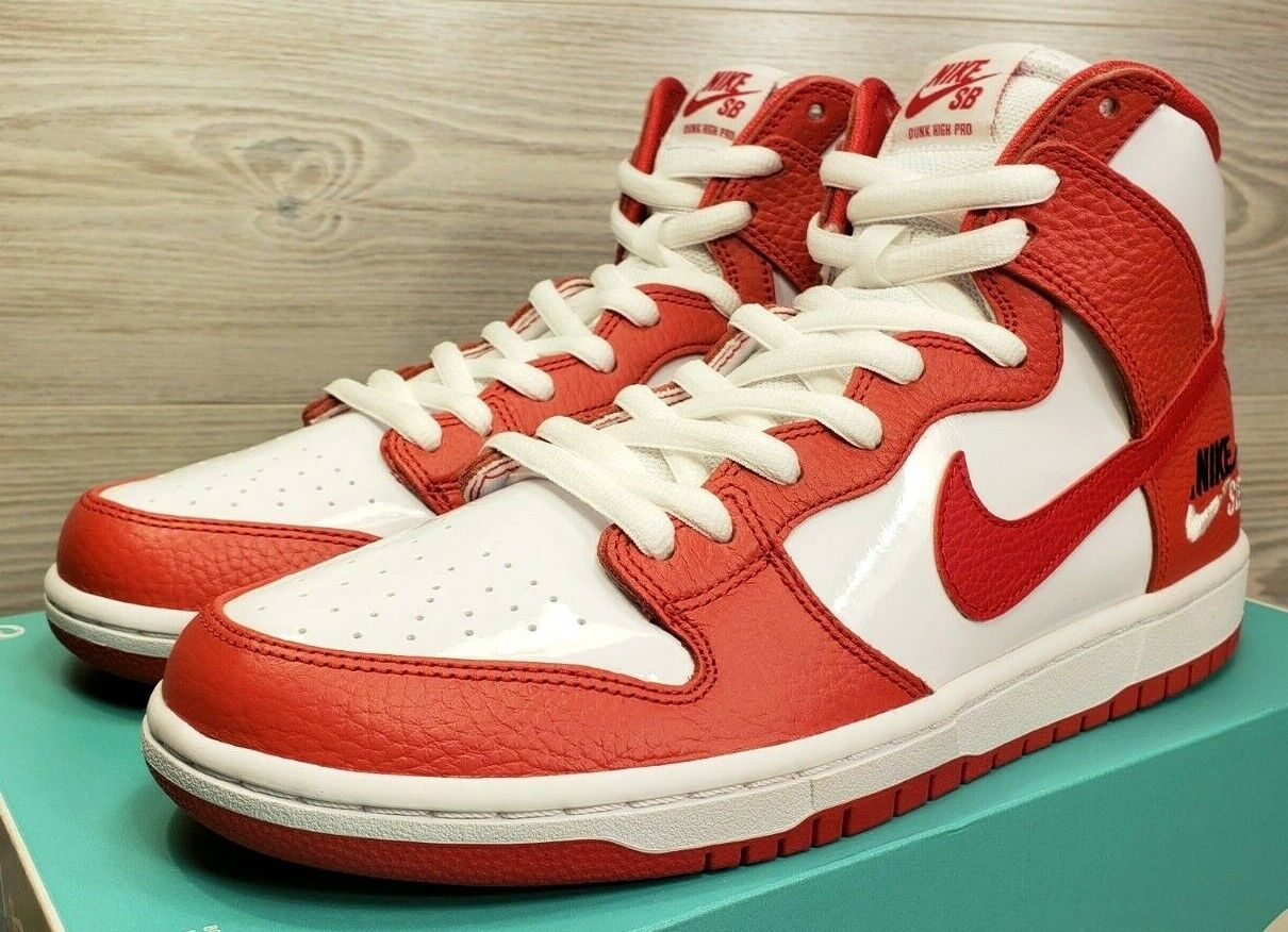 Nike SB Zoom Dunk High Pro Dream Team Red White Basketball 854851-661 Size 11.5