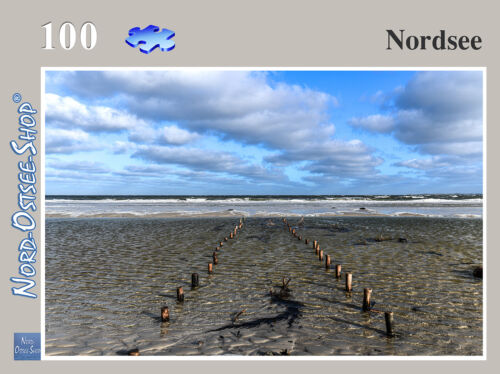 Nordsee Puzzle 100//200//500//1000//2000 Teile,Nordsee,Strand,Meer