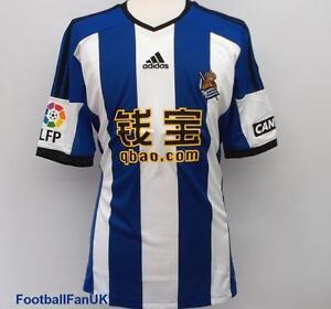 REAL-SOCIEDAD-ADIDAS-Maillot-Domicile-2014-15-Nouveau-Camiseta-Maillot-14-15