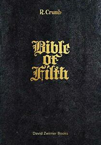 R-Crumb-Bible-of-Filth-by-r-crumb-NEW-Book-FREE-amp-Hardcover