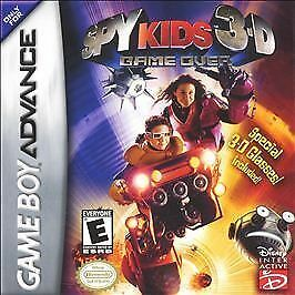 Spy Kids 3-D: Game Over (Nintendo Game Boy Advance, 2003) GAME ONLY NICE NES HQ