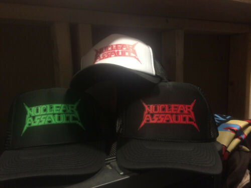 Nuclear Assault Hat thrash kbd razor slayer exodus anthrax sodom sod overkill di