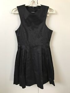 Maxim-Dress-SiZe-S-8-Black-Pleated-Skirt-NWT