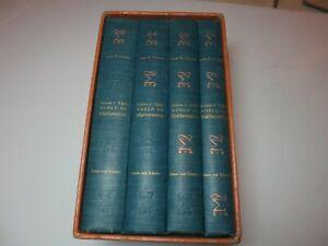 The-World-of-Mathematics-James-Newman-4-Volumes-1956-Anthology-of-Math-NICE