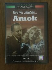 AMOK - DVD pelicula Del Cine Mexicano Con MARIA FELIX y JULIAN SOLER