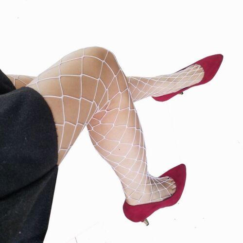6# Schwarz Netz Strümpfe Strumpfhose in vers Farben Stocking Fishnet Club Wear