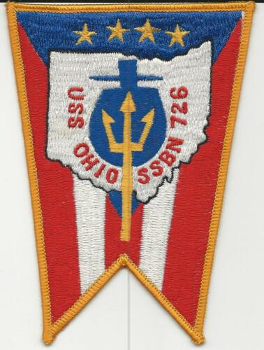 US Navy Ship Patch USS Ohio SSBN-726 from sub 1978