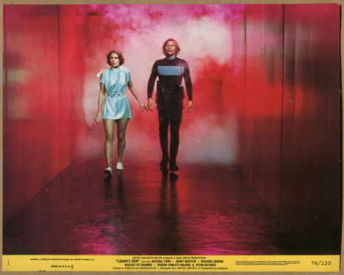 """Logan's Run"" Walking Down Hallway - Movie Still - # 76/120 (Grade VG+) WH"