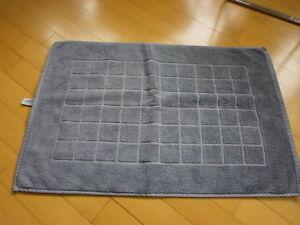 Details Zu Badezimmer Matte Vorleger Aquarelle Grau 70 X 48 Cm