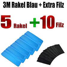 3M RAKEL BLAU 5  STÜCK + FILZ 10  STÜCK - Folierung - Carwrapping