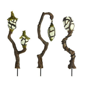 Fiddlehead-Miniature-Fairy-Garden-Lights-Lamps-amp-Lanterns-Quick-FOC-Delivery