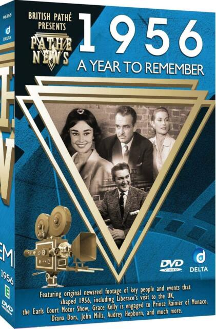 Original Newsreel Footage British Pathé News DVD A Year To Remember 1956