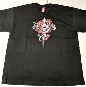 competitive price e7321 6eaa0 Details about Reebok Allen Iverson I3 Limited Edition Reebok T-shirt Dragon  Sword Mens 2XL
