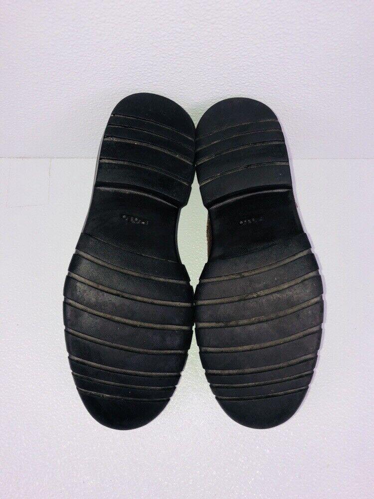 Polo Ralph Schuhes Lauren Leder Wing Tipped Schuhes Ralph 9.5 Alm 47801 2d738d
