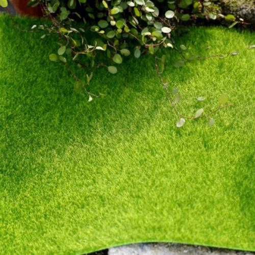 Kunstrasen Rasen Deko Moos Flachmoos Moosplatten Dekoration Moss 15x15cm