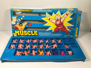 M-U-S-C-L-E-Cosmic-Showdown-Set-Box-4-Keshi-Mattel-Action-Figure-Toys-PARTIAL