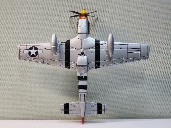 1:72 DeAgostini WW2 Militärfahrzeug G12 Flugzeug North American P-51D Mustang