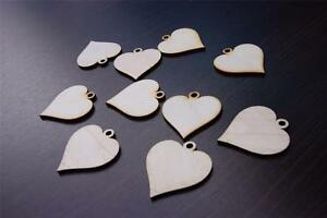 10x-SM-Plain-Wood-Wooden-Hearts-embelishments-craft-shapes-blank-heart-shape