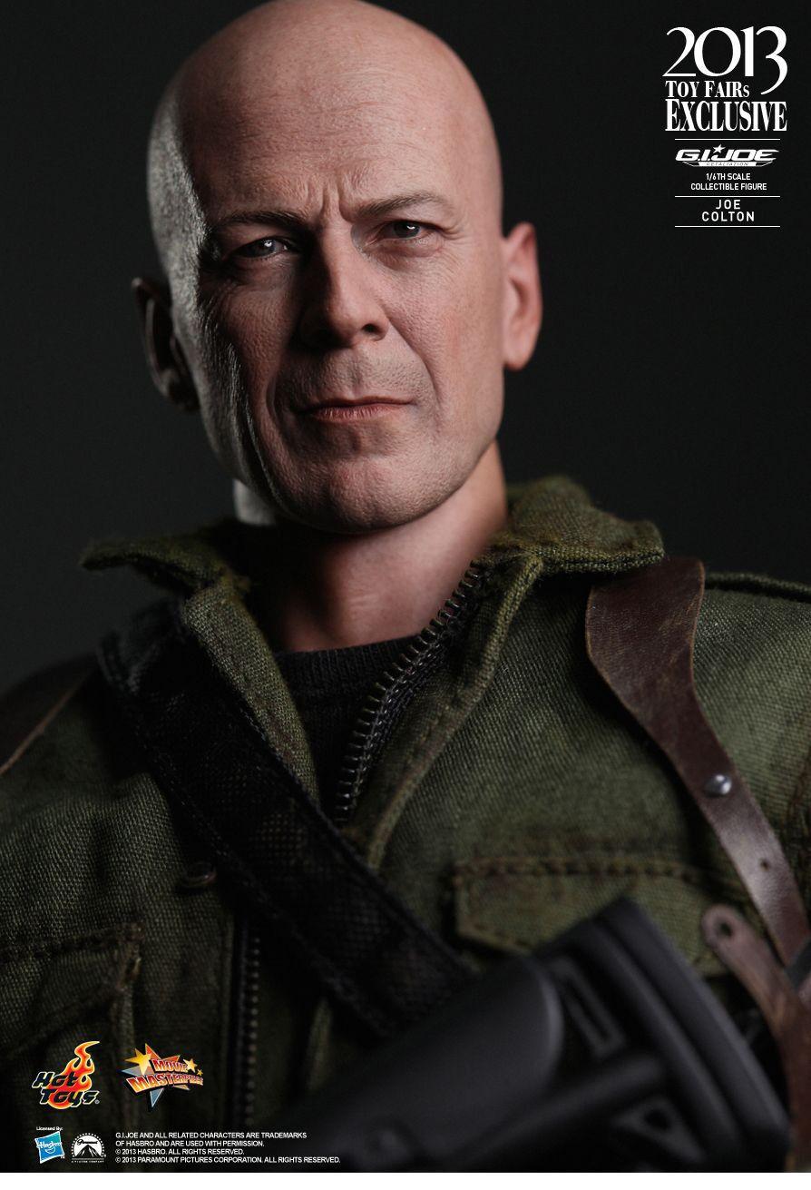Hot Toys G.I. Joe - Joe Colton  2013 Toy Fairs Exclusive  Bruce Willis