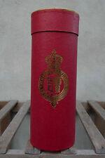 """Christys """"Cappello di tubo per PIEGHEVOLE Panama - 11IN / 28 cm Rosso e Oro"""