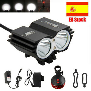 SolarStorm-2x-XML-T6-LED-000-Lumen-Linterna-Bicicleta-Frontal-Cabeza-Faro-Luz-KK